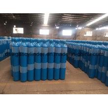 99.9% Co de gas llenado en 8L cilindro de gas con válvula