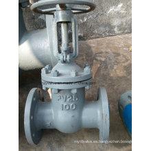 """GOST Py25 Válvula de compuerta de acero fundido de 4 """"(Z41H-25C-4"""")"""