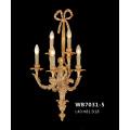 Latão de luxo clássico lâmpada de parede (wb7031-5)
