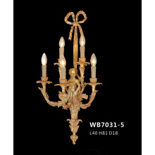 Luxury Brass Classical Wall Lamp (WB7031-5)