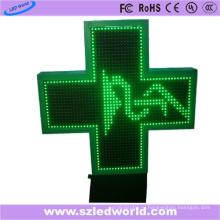 P16 Открытый светодиодный Аптечный крест знак