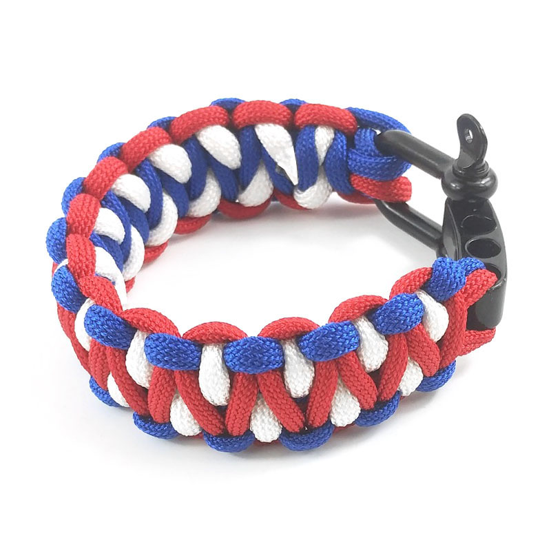 3 Color Paracord Bracelet