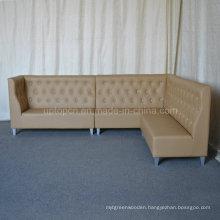 Modern L Shape Restaurant Corner Booths Corner Sofa (SP-KS293)