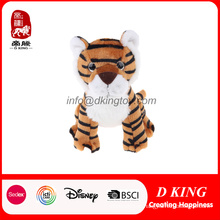 High Quality Stuffed Wild Animal Tiger Plush Toy with En71