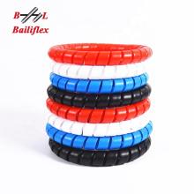 hydraulic hose spiral plastic guard