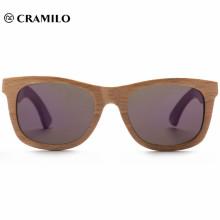 2018 chinesische Sonnenbrille aus Holz mit Retro-Rahmenfeder