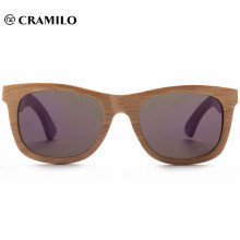 2018 Chinese retro frame spring hinge wooden sunglasses