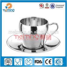 alibaba superventas tazas de té de acero inoxidable, juego de té, juego de tazas de té