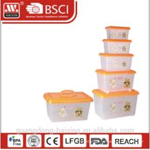 plastic storage container w/wheels 4.8L/8.5L/15L/25L/43L