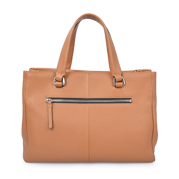 Classic Leather Women Office Business Travel Tote Laptop Hand Bag