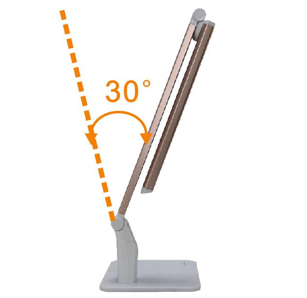 2000 lux lâmpada de mesa lâmpada de mesa lâmpada de trabalho