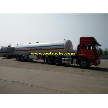 45cbm 2 axles LPG Semi Trailer Tankers