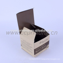 Custom Printed logo Folding Paper Box Cosmetic Factory