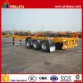 Tri-Axle 40ft Skeleton Type Container Transport Semi Trailer
