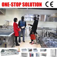 2017 AZ Solution Equipamento de cozinha comercial China