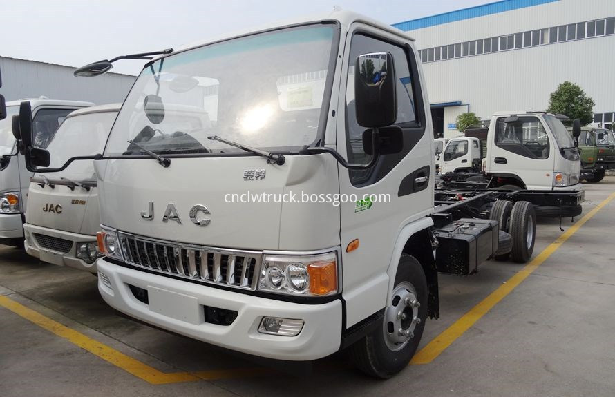 Light Duty Towing vehicle chassis 1