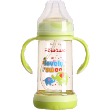 8oz Anti-Flatulence PPSU Baby Feeding Bottle Wide Neck