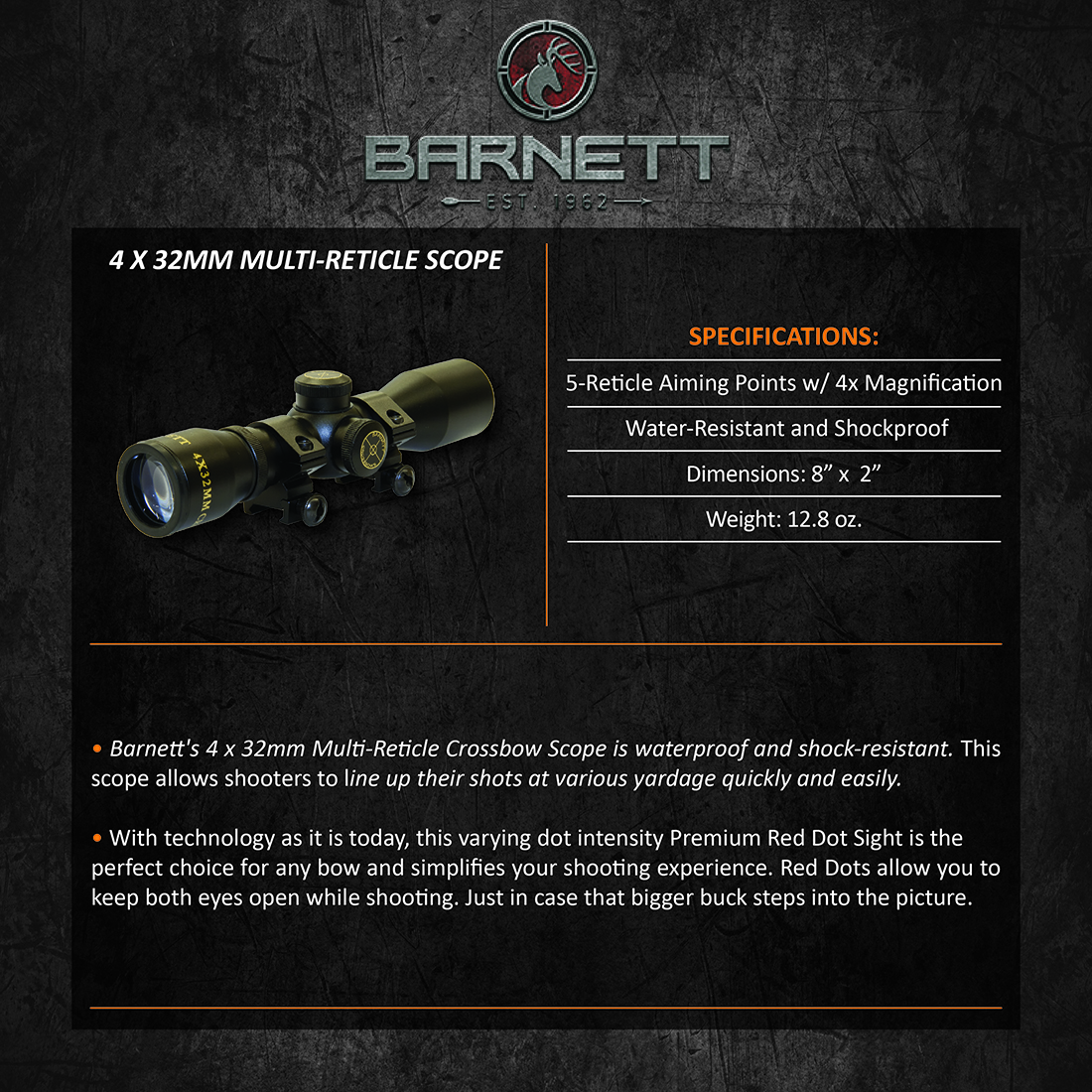 Barnett_4x32mm_MultiReticle_Scope_Product_Description
