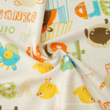 Impressão em tecido de malha para bebê