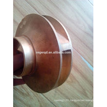 Top quality brass impeller for pumps