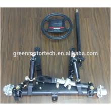 Steel suspension kit for mini truck
