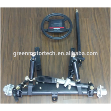 Steel suspension kit for mini truck