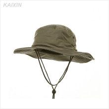 5 tapas de ocio de panel / sombreros de lluvia de pesca a prueba de agua de mejor calidad / gorras de malla de venta caliente barato