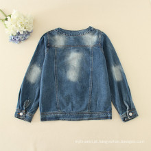 Jaquetas jeans crianças preço barato atacado jaquetas estilo popular legal moda estilo outono novas coleções de inverno crianças roupas