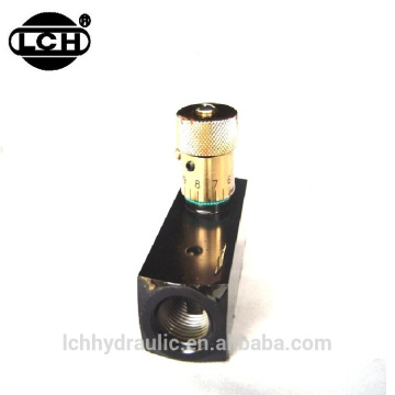 flow control check throttle valve 10 inch needle valve
