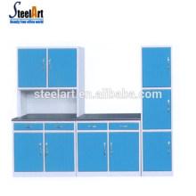 Steelart heißer Verkauf neue Modell Küchenschrank moderne Stahl Küchenschrank Griff Schrank Küche