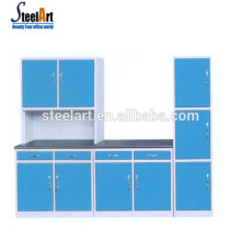 Steelart vente chaude nouveau modèle armoire de cuisine en acier inoxydable armoire de cuisine poignée armoire cuisine