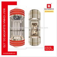 Привод переменного тока VVVF Полный коллективный микропроцессорный контроль Лифт наружного лифта