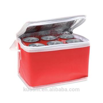 barato saco comercial não tecido do refrigerador de gelo