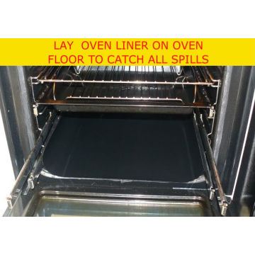 PTFE Coated With Fiberglass Fabric Non-stick And Reusable Oven Mat Contact With Food Directly