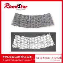 Manga de cono de tráfico reflectante plata para seguridad