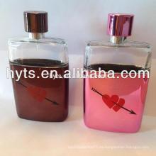 botellas de perfume de pantalla grande