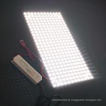 Distribuição de luz consistente e uniforme Painel LED flexível de 1mm de espessura