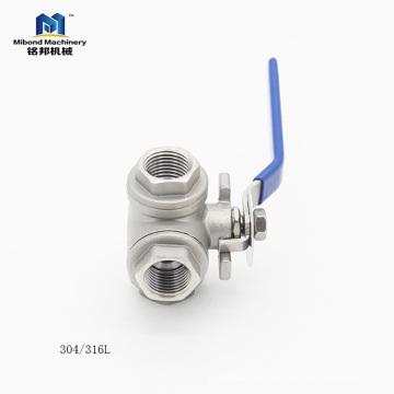 Made In China Oem Billig Und Hohe Qualität Edelstahl 3 Way Kugelhahn