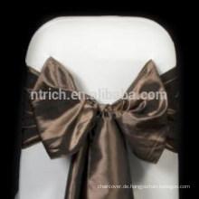 Royal Satin Stuhl-Schärpe, Stuhl Krawatten, wickelt für Hochzeit Bankett hotel