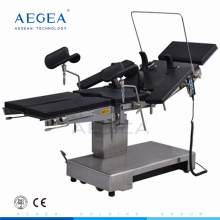 AG-OT010B C-arm compatible electric motor control surgery medical operation table price