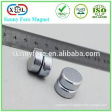 néodyme d'offre de fabricant aimant disque 9 x 3 mm