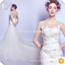 Neuankömmling!! Vestido de Casamento Elegantes preiswertes China-Hersteller-Spitze-Nixe-Hochzeits-Kleid
