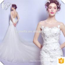 ¡¡Nueva llegada!! Vestido de Casamento Elegante China fabricante barato vestido de boda de sirena de encaje