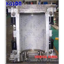 Molde de sopro da extrusão de grande barril química 200L
