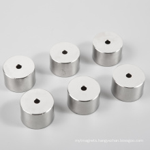 Sraight Hole Permanent Neodymium Magnets