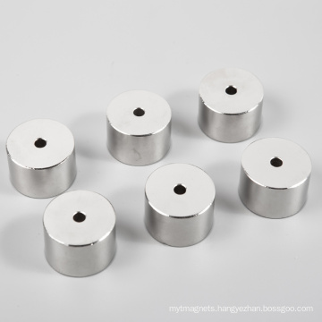 Sraight Hole Permanent Neodymium Magnets