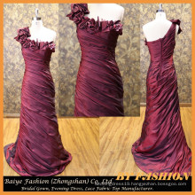 Latest Design Formal Evening Gown Long Satin Party Dress Night Gown BYE-14079