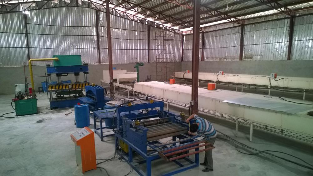 slitting and cutting line for Steel Stone Roofing Tiles Making Machine