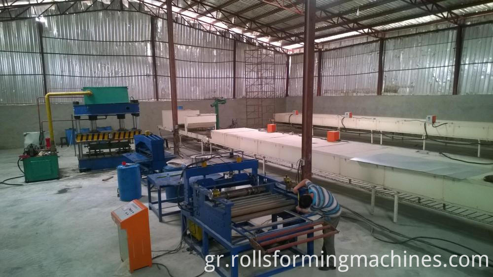 slitting and cutting pline for Stone Coated Steel Roofs Product Line