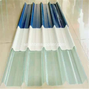 UV-Blockering Anti-Corrosion Clear FRP Roofing Sheets